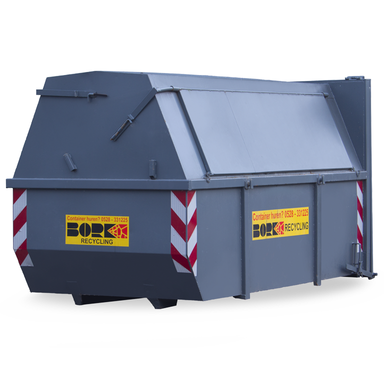 9 m3 gesloten container huren